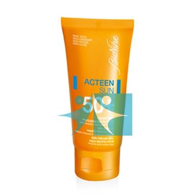 BioNike Linea Defence Sun SPF50+ Crema Solare Natural Color Pelli Sensibili 50ml