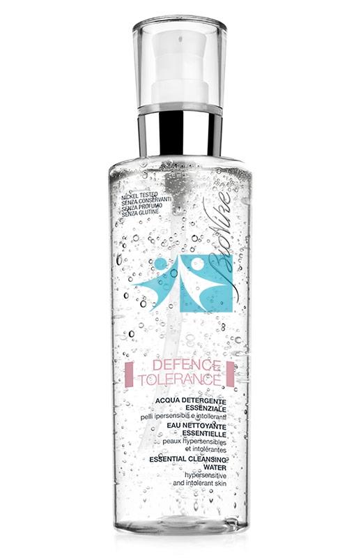 BioNike Linea Defence Tolerance Acqua Detergente Essenziale Viso e Corpo 50 ml
