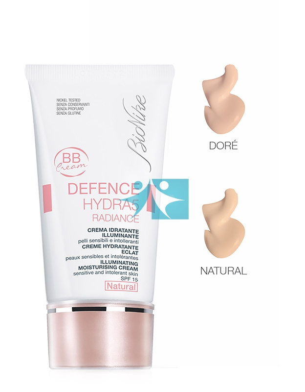 BioNike Linea Defence Hydra5 Radiance BB Cream  Idratante SPF15 Viso 40 ml Dorè