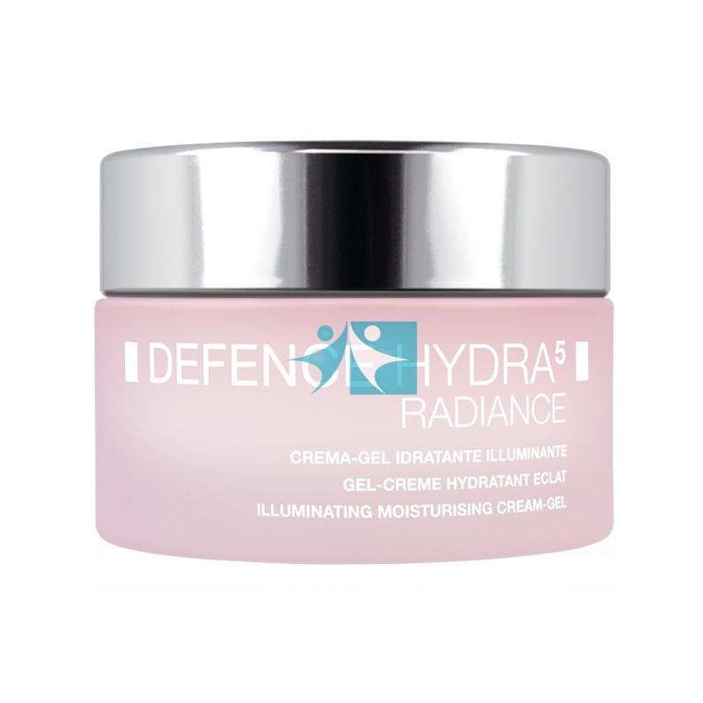 BioNike Linea Defence Hydra5 Radiance Crema Gel Idratante Viso 50 ml Incolore